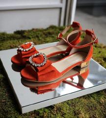 Nove sandale brušena koža