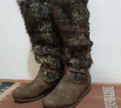 Čizme s krznom br.41