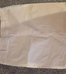 Benetton bijela uska suknja
