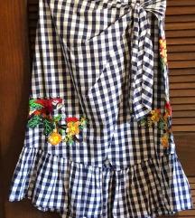 Predivna suknja na preklop
