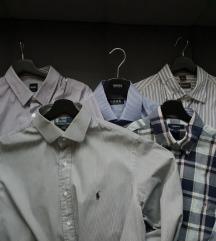 Muške košulje - Boss, Ralph Lauren, Gant; XL i XXL