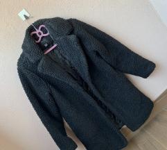 Teddy jakna kaput iznad koljena 36
