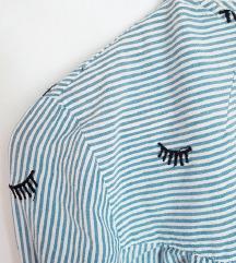 BERSHKA striped bluza  🎀