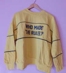 Who made the rules? Crewneck