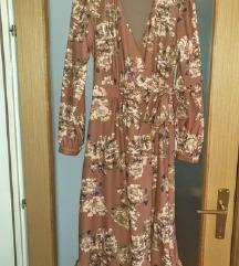 Elegantna cvjetasta haljina