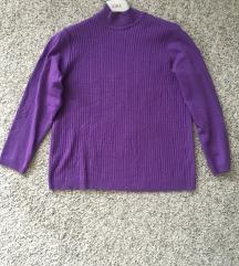 Kao nov ljubičasti pulover vel L