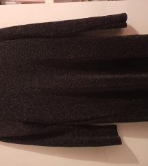 Ljubičasta deblja haljina, ZARA