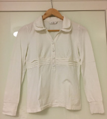 Bijela majica dugih rukava