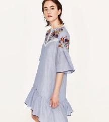 Zara vezen haljina