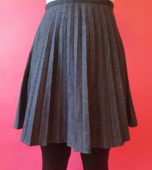 Moschino jeans plisirana suknja