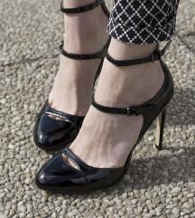 ZARA mary jane crne sandale vel 37