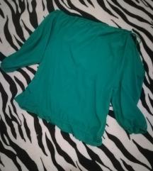 Yammamay bluza zelena, off shoulder