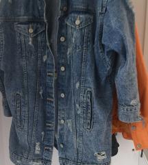 Zara oversize jeans jakna