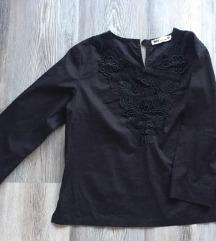 MARX crna bluza s vezom