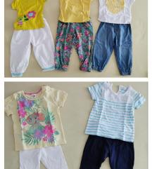 Lot majica i hlače za proljeće