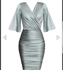 Srebrna haljina