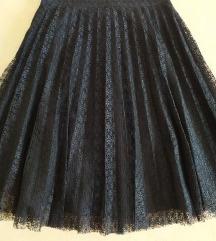 Kupujem suknja plisirana čipka, 34*36, xs/s