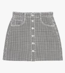 Zara mini suknja pepita uzorka