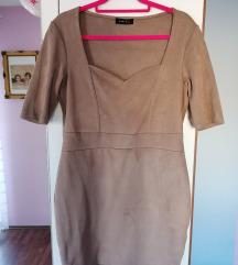 Haljina od brušene kože