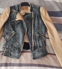 Kožna/traper jakna