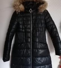 Zimska jakna sa pravim krznom vel.M