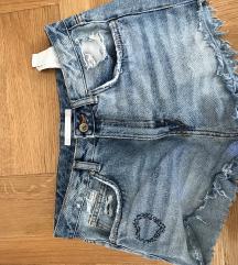 Zara kratki jeans 38