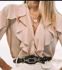 Popularna like Zara bluza sa volanimaNOVO pt uklj.