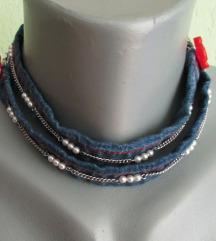 Jeans ogrlica/narukvica
