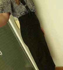 Midi haljina na tregere ili samo suknja, kao nova