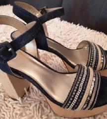 Bullboxer sandale, kao nove, 40, uklj.pt.