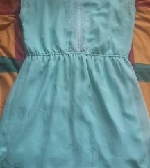 Haljina- mentol boja- cijena s poštarinom