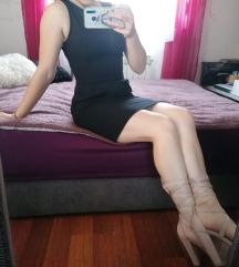 Crna svecana/poslovna haljina, postarina free :)