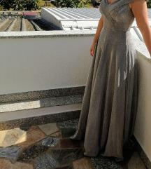 Svečana šljokasta haljina