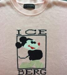 ICEBERG HISTORY roza vesta sa printom
