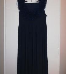 Tamnoplava svečanija haljina
