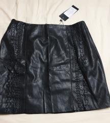 NOVO! Kožna suknja 40 *prodaja/zamjena*