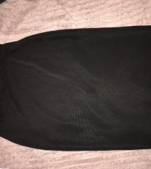 Zara crna suknja ispod koljena XS