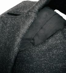 ISABEL MARANT H&M tamno sivi kaput NOVO S ETIKETOM