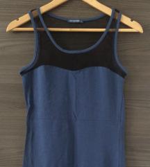 Plava bodycon haljina NOVA