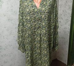 Nova cvjetna haljina/tunika sa etiketom