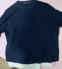Bershka kombinirani pulover