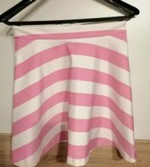 rozo-bijela minica