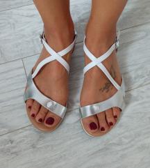 Marilla kožne sandale