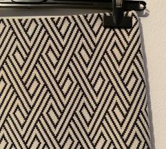 Zara pencil suknja s geometrijskim uzorkom