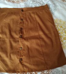 Mini suknja velur izgleda %25 kn%