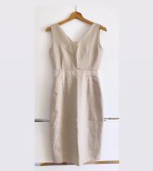 Nebo lanena haljina