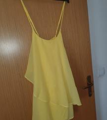 Vero moda žuta haljina