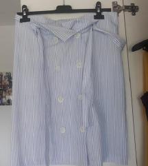 Suknja na prugice