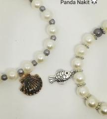 Set narukvica s morskim motivima