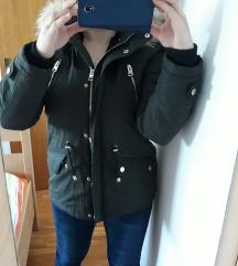 Nova tamnozelena parka/jakna